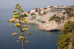 Station de vacances de bord de la mer Image libre de droits