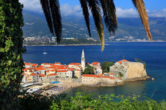 Station de vacances de Budva Photos libres de droits