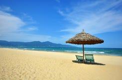 Station de vacances de Da Nang, Vietnam central Photographie stock libre de droits