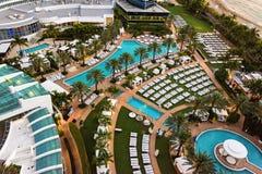 Station de vacances de Fontainebleau, Miami, la Floride Photographie stock libre de droits