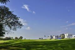 Station de vacances de golf images stock