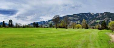 Station de vacances de golf Photo stock