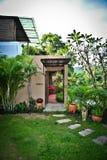 Station de vacances de jardin Images libres de droits