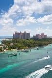 Station de vacances de l'Atlantide à Nassau, Bahamas Photo stock
