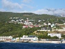 Station de vacances de la Crimée Photos libres de droits