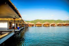 Station de vacances de lac Images libres de droits