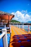 Station de vacances de lac Image stock
