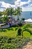 Station de vacances de luciole sur Abaco, Bahamas Images libres de droits