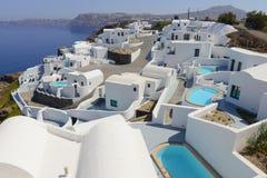 Station de vacances de luxe de villas Photos libres de droits