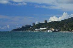 Station de vacances de mer. Images libres de droits