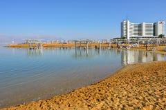 Station de vacances de mer morte, Israël Image stock