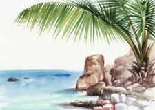 Station de vacances de Palm Beach Photographie stock