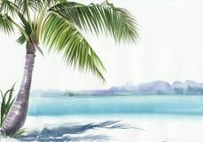 Station de vacances de Palm Beach Images stock