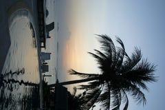 Station de vacances de piscine de Ko Pangnan Photo stock