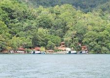 Station de vacances de plongée de NAD Lembeh - centre de plongée Photo libre de droits