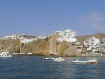 Station de vacances de Santa Maria à 50 kilomètres aux sud de Lima Photographie stock libre de droits