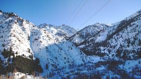 Station de vacances de Shymbulakski Il est situé dans la partie supérieure de la vallée de Medeu dans le Zaiilisky A Photo libre de droits