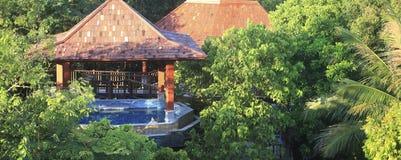 Station de vacances de source thermale Photographie stock libre de droits