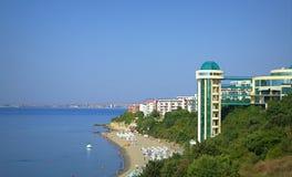 Station de vacances de Sveti Vlas, Bulgarie Photos stock