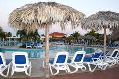 Station de vacances du Cuba image libre de droits