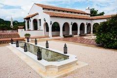 Station de vacances extérieure de luxe dans le style de l'Europe Photographie stock