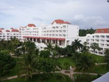 Station de vacances Jamaïque images libres de droits