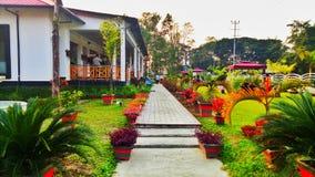 Station de vacances khar de khuwa de Mangaldai photographie stock