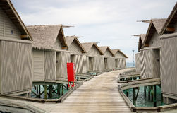 Station de vacances Maldives Photo libre de droits
