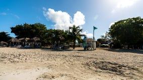 Station de vacances de plages Negril Jamaïque images stock