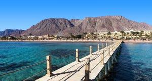Station de vacances près de la Mer Rouge Photographie stock libre de droits