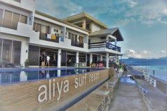 Station de vacances de ressac d'Aliraya Images libres de droits