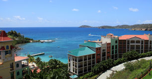 Station de vacances St Thomas de Marriott photo libre de droits