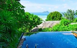 Station de vacances tropicale Photo libre de droits