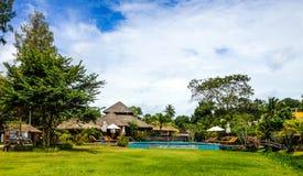 Station de vacances tropicale Image libre de droits