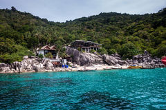 Station de vacances tropicale chez Ko Tao photographie stock libre de droits