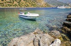 Station de vacances turque populaire Oludeniz - Turquie Images stock