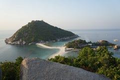 Station de vacances de yuans de Kho Nang, Thaïlande photographie stock libre de droits