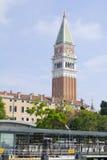 Station de Vaporetto San Marco Image stock