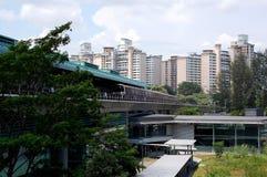 Station de vue de Buona, Singapour Photo libre de droits