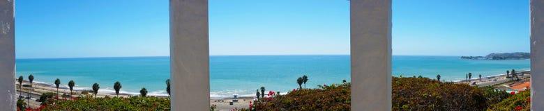 Station de vue donnant sur l'océan pacifique Photo stock