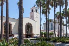 Station des syndicats à Los Angeles du centre photos stock