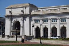Station des syndicats dans le Washington DC Image libre de droits
