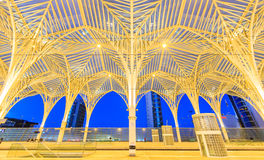 The station is designed by world famous architect Santiago Calatrava Stock Images