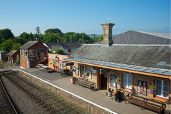 Station Devon du nord R-U de Williton photo stock