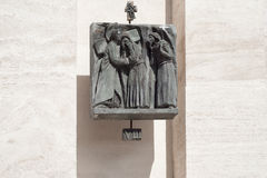 Station Eight: Jesus meets the women of Jerusalem Stock Images