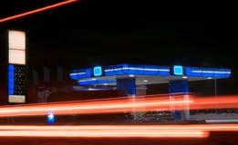Station en hiver photographie stock libre de droits