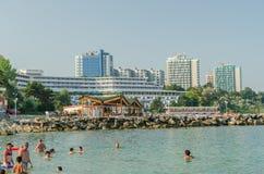 Station estivale d'Olimp en Roumanie Image libre de droits