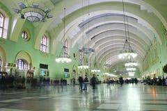 station för 2 järnväg Fotografering för Bildbyråer