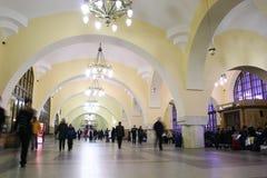 station för 3 järnväg Royaltyfria Foton