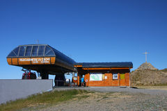 Station för bil för Chamrousse toppmötekabel Royaltyfria Foton